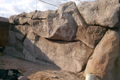 Скальные блоки из искусственного камня