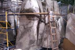 Создание пещеры из искусственного камня