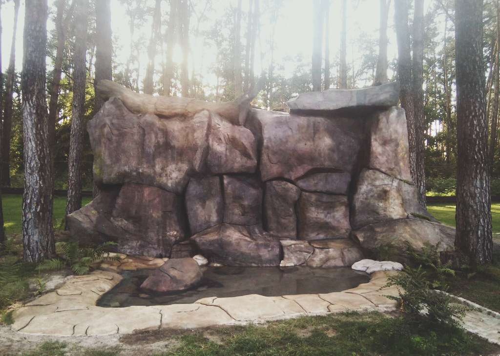 Скала из искусственного камня DEX12