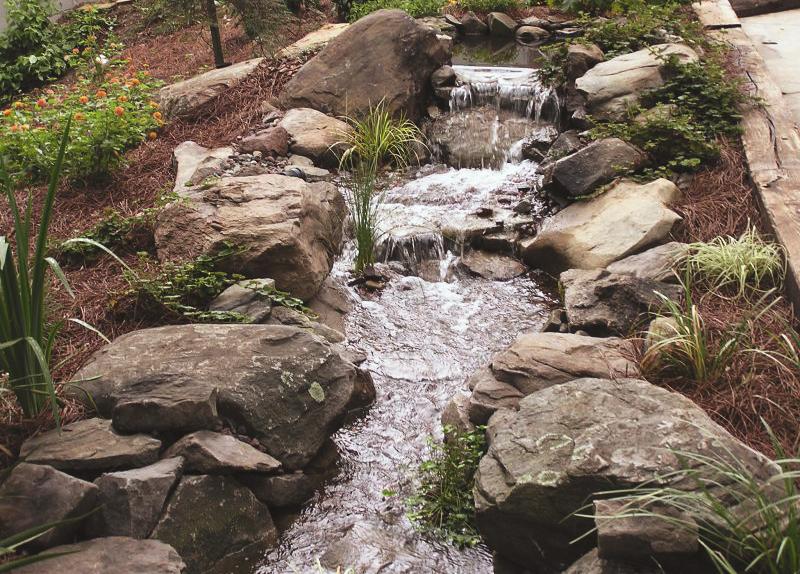Водопад-ручей DEX12