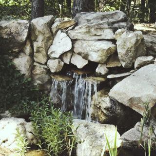 Водопад из искусственного камня DEX12